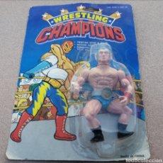 Figuras Masters del Universo: FIGURA ACCIÓN WRESTLING CHAMPIONS. MOTU. BLISTER WWF. Lote 183793457
