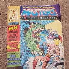 Figuras Masters del Universo: COMIC MÁSTERS DEL UNIVERSO MOTU HEMAN MATTEL HEMAN. Lote 183821333