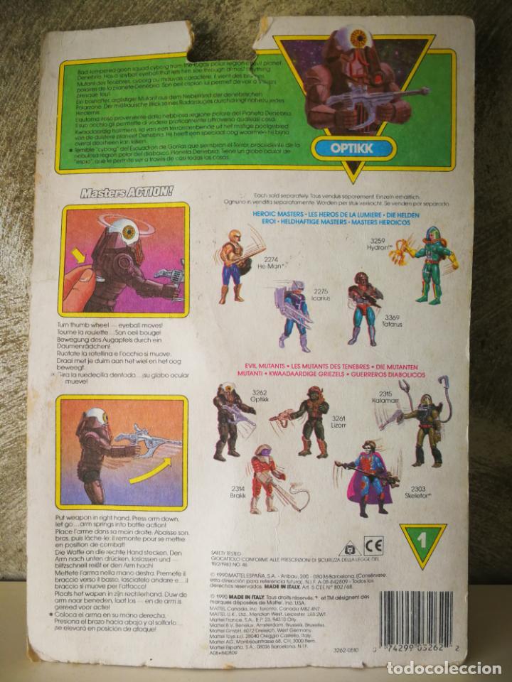 Figuras Masters del Universo: LAS NUEVAS AVENTURAS DE HE-MAN OPTIKK EN BLISTER - Foto 4 - 184102113