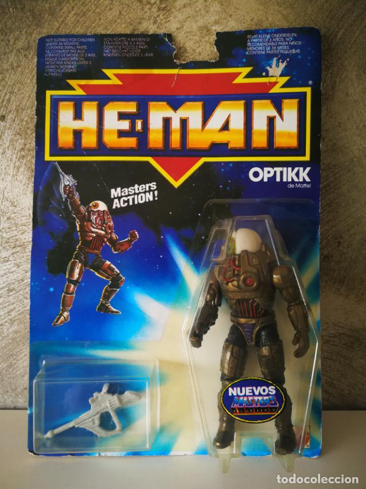 LAS NUEVAS AVENTURAS DE HE-MAN OPTIKK EN BLISTER (Juguetes - Figuras de Acción - Master del Universo)