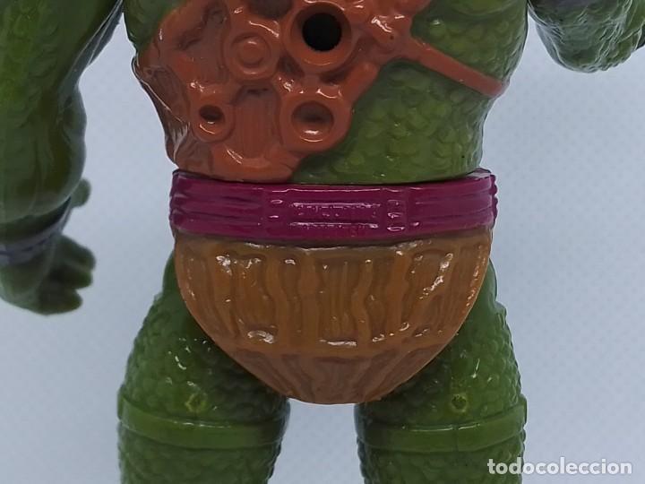 Figuras Masters del Universo: Figura de Lizorr de las Nuevas Aventuras de He-Man MOTU Masters del Universo © M. I. 1989 MALAYSIA - Foto 4 - 184265228