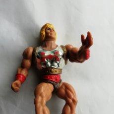 Figuras Masters del Universo: HEMAN PUÑO BOLEADOR MATTEL 1985. Lote 184531756