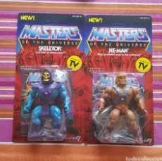 Figuras Masters del Universo: HE-MAN & SKELETOR VINTAGE WAVE 1 MOTU NEOVINTAGE MASTERS OF THE UNIVERSE SUPER7 HE-MAN NEW. Lote 178445085