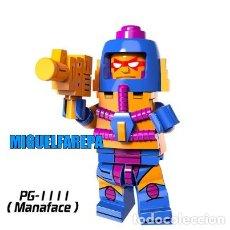 Figuras Masters del Universo: LEGO COMPATIBLE HEMAN MASTERS DEL UNIVERSO MAN FACE MINI FIGURAS NUEVAS A ESTRENAR. Lote 185885587