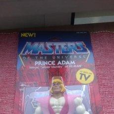 Figuras Masters del Universo: MASTERS DEL UNIVERSO BLÍSTER ORIGINAL(SIN ABRIR)PRINCE ADAM HE-MAN*CON VESTIMENTA,ESPADA,MATTEL-MOTU. Lote 186414467