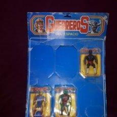 Figuras Masters del Universo: GUERREROS DEL ESPACIO EN BLISTER HE-MAN ETC.... Lote 186944658