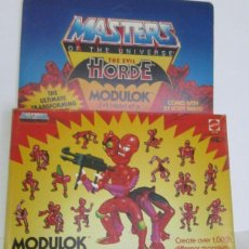 Figuras Masters del Universo: MASTERS DEL UNIVERSO, HORDA DEL TERROR, MODULOK, EN CAJA. CC. Lote 187243096