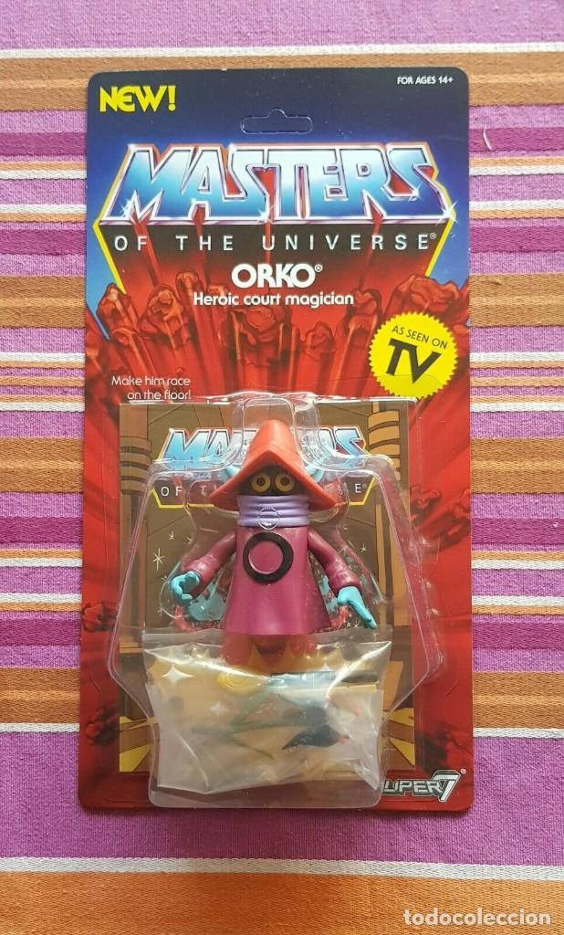 ORKO WAVE3 NEO VINTAGE SUPER7 S7 WAVE 2 MASTERS OF THE UNIVERSE MOTU (Juguetes - Figuras de Acción - Master del Universo)
