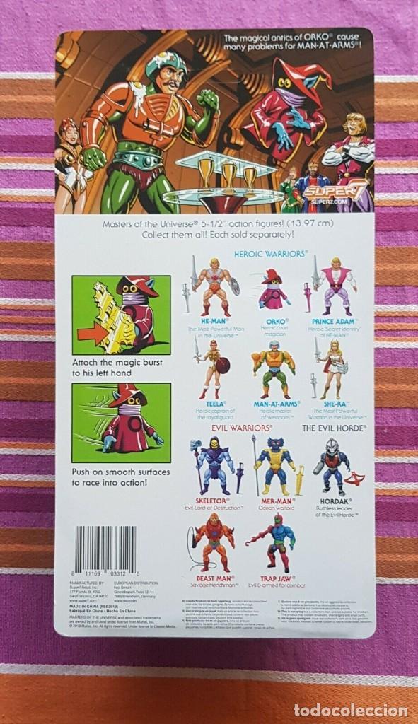 Figuras Masters del Universo: ORKO WAVE3 NEO VINTAGE SUPER7 S7 WAVE 2 MASTERS OF THE UNIVERSE MOTU - Foto 2 - 189197913