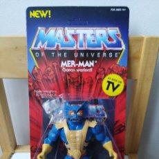 Figuras Masters del Universo: SUPER 7 MUÑECO FIGURA MOTU MER MAN . Lote 190326800