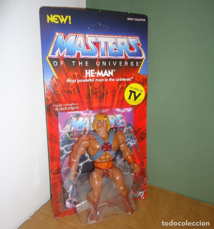MOTU - HE-MAN [NEO VINTAGE FILMATION STYLE · WAVE 1 · SUPER 7, 2019] - FIGURA (Juguetes - Figuras de Acción - Master del Universo)
