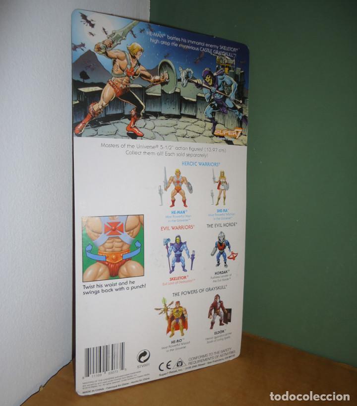 Figuras Masters del Universo: MOTU - He-Man [Neo Vintage Filmation style · Wave 1 · Super 7, 2019] - Figura - Foto 2 - 190545067