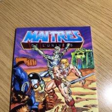 Figuras Masters del Universo: MASTERS DEL UNIVERSO MINI COMIC FRANCÉS Y INGLÉS. Lote 192545870
