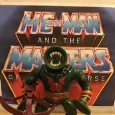 Figuras Masters del Universo: MOTU VINTAGE LEECH COMPLETO MASTER OF THE UNIVERSE. Lote 203314558