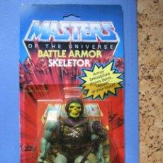 Figuras Masters del Universo: MOTU MASTERS DEL UNIVERSO BATTLE ARMOR SKELETOR ARMADURA DE COMBATE BLISTER ORIGINAL MATTEL. Lote 193249566