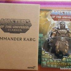 Figuras Masters del Universo: COMMANDER KARG MASTERS OF THE UNIVERSE CLASSICS WILLIAM STOUT MOTU MOTUC. Lote 194228080