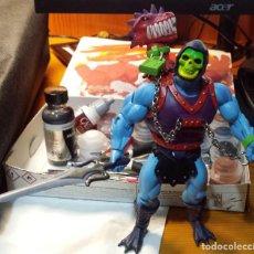 Figuras Masters del Universo: CUSTOM DRAGON BLASTER SKELETOR MOTUC. Lote 194621648