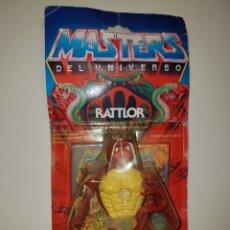 Figuras Masters del Universo: RATTLOR EN BLISTER SPAIN . MASTERS DEL UNIVERSO MOTU HEMAN MATTEL HEMAN. Lote 194861155