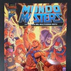 Figuras Masters del Universo: REVISTA MUNDO MASTERS 5 - MASTERS DEL UNIVERSO. Lote 195147993