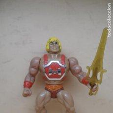 Figuras Masters del Universo: MOTU HE-MAN THUNDER PUNCH 1985 MATTEL TAIWAN SPAIN. Lote 195309280