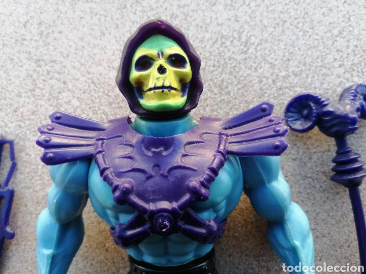 Figuras Masters del Universo: Difícil Skeletor Medias Botas. Masters del Universo. Half boots - Foto 3 - 195374843