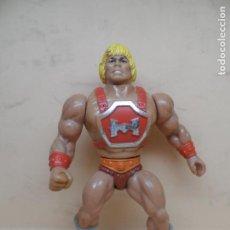 Figuras Masters del Universo: MOTU HE-MAN THUNDER PUNCH 1985 MATTEL TAIWAN SPAIN. Lote 195491477
