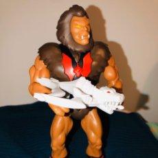 Figuras Masters del Universo: GRIZZLOR SUPER 7 FILMATION CON BALLESTA HORDAK MOTUC. MOTU. Lote 195502826