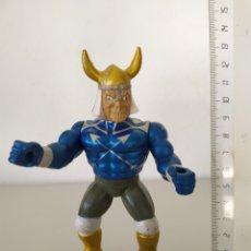 Figuras Masters del Universo: MANNIX DUAL FACE MONSTER FIGURA ACCIÓN MOTU LO BOOTLEG SKELETOR. Lote 198576122