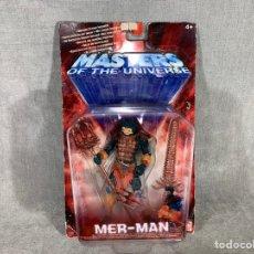 Figuras Masters del Universo: MER MAN - MASTERS DEL UNIVERSO - MATTEL 2002 SIN ABRIR. Lote 221743816