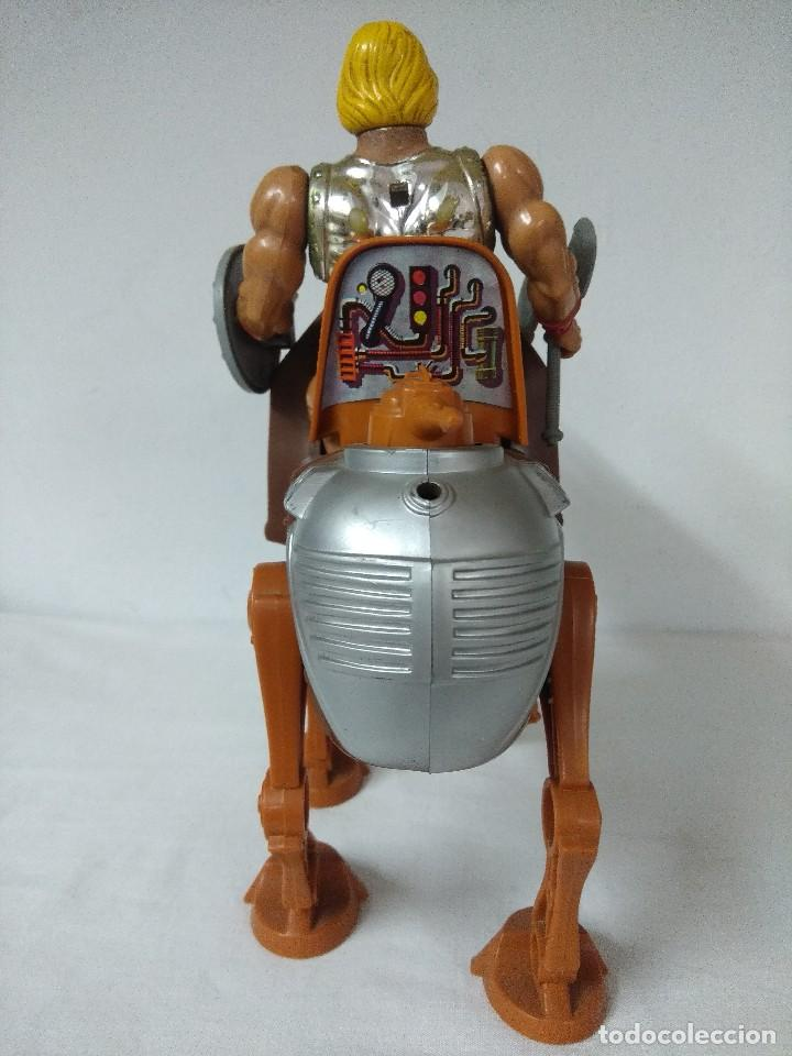 Figuras Masters del Universo: MASTERS DEL UNIVERSO DE MATTEL/HE-MAN CON STRIDOR-HEROICO CABALLO DE GUERRA/MOTU. - Foto 3 - 199032163