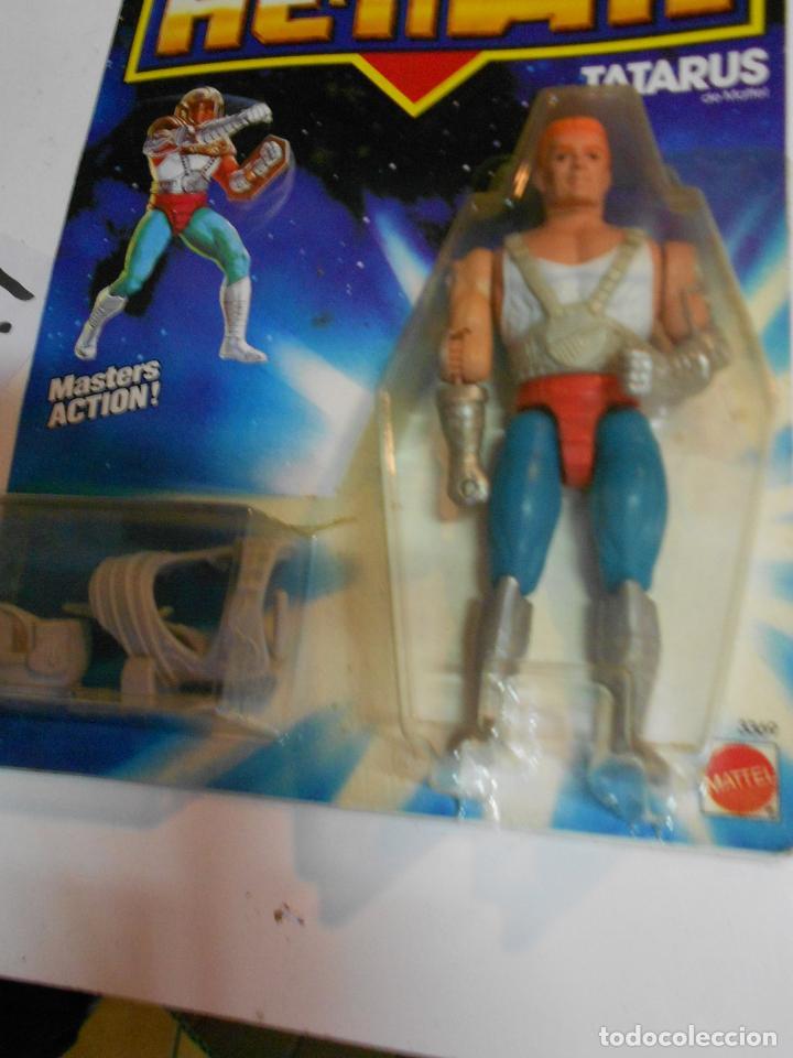 Figuras Masters del Universo: ANTIGUO BLISTER HE MAN MASTER DEL UNIVERSO - TATARUS - NUEVO PRECINTADO - Foto 2 - 202072043
