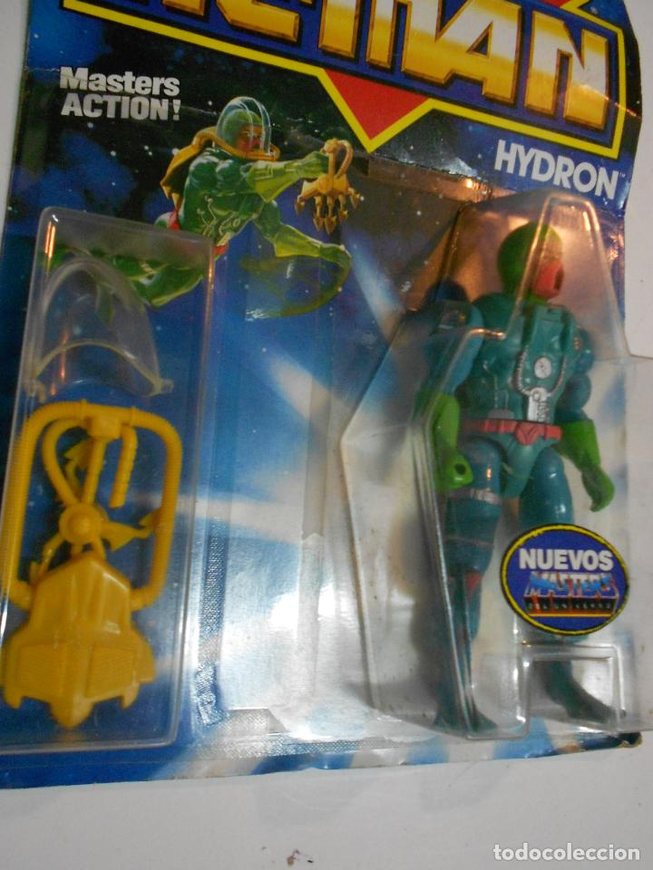 Figuras Masters del Universo: ANTIGUO BLISTER HE MAN MASTER DEL UNIVERSO - HYDRON - NUEVO PRECINTADO - Foto 2 - 202072145