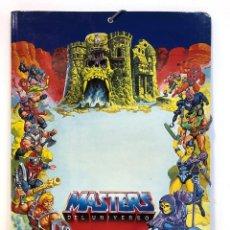 Figuras Masters del Universo: CARPETA MASTERS DEL UNIVERSO AÑOS 80 JOSMAN DOS CLASIFICADORA. Lote 203260915