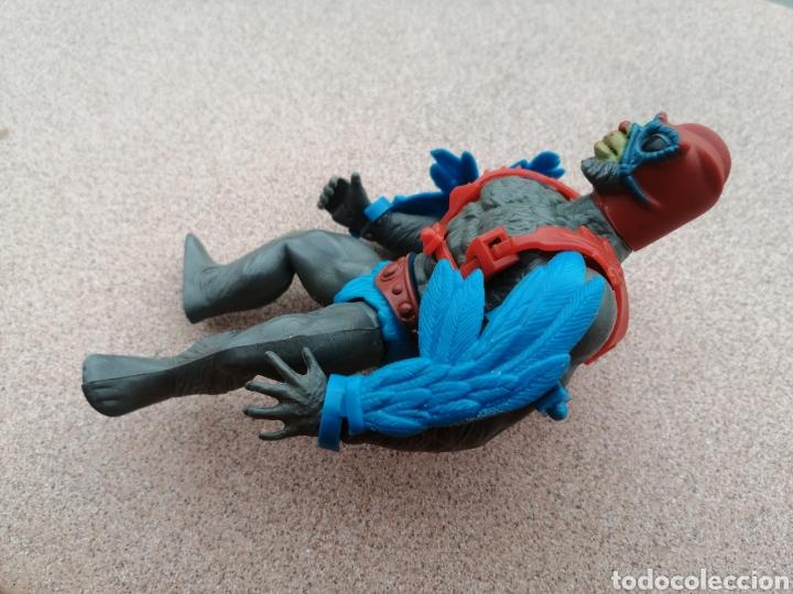 Figuras Masters del Universo: Stratos 100% Completo. Masters del Universo. Estratos strato estrato hombre pajaro alas - Foto 5 - 194877480