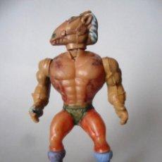 Figuras Masters del Universo: RARO VINTAGE GUERREROS DEL ESPACIO MOTU MASTERS FIGURA BOOTLEG ESPAÑA. Lote 204606368