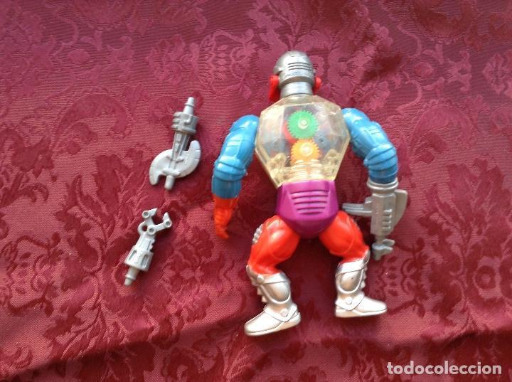 Figuras Masters del Universo: Master del universo robótico con accesorios - Foto 2 - 204617828