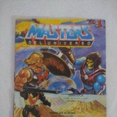 Figuras Masters del Universo: CATALOGO MASTERS DEL UNIVERSO DE MATTEL/MOTU/RECORTADO¡¡¡.. Lote 205474662