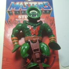 Figuras Masters del Universo: LEECH COMPLETO MASTERS DEL UNIVERSO MOTU HEMAN MATTEL HEMAN. Lote 205563263