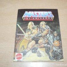 Figuras Masters del Universo: 23- CATALOGO FOLLETO MASTERS DEL UNIVERSO MATTEL ESPAÑA 20 PÁGINAS AÑO 1988 HE-MAN SKELETOR MOTU. Lote 206820183