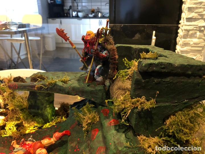 Figuras Masters del Universo: Increíble Diorama dos custom ! Skeleterror fuck he !! Master. Motu. He man. - Foto 22 - 206972585