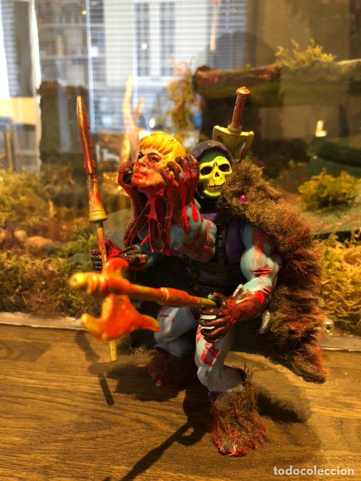 Figuras Masters del Universo: Increíble Diorama dos custom ! Skeleterror fuck he !! Master. Motu. He man. - Foto 30 - 206972585