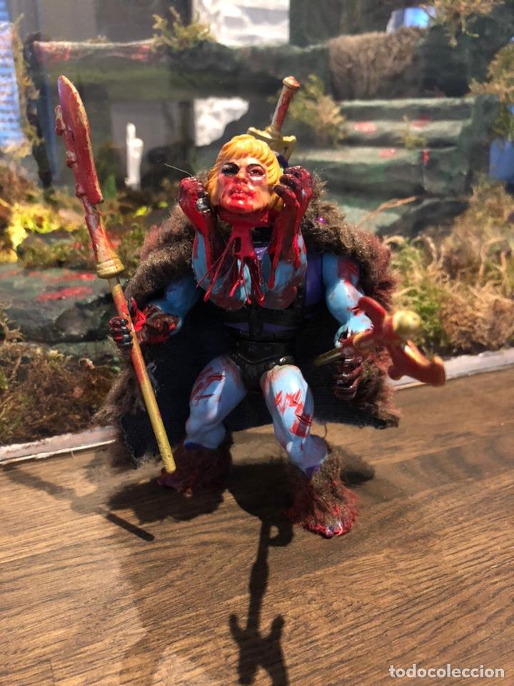 Figuras Masters del Universo: Increíble Diorama dos custom ! Skeleterror fuck he !! Master. Motu. He man. - Foto 31 - 206972585