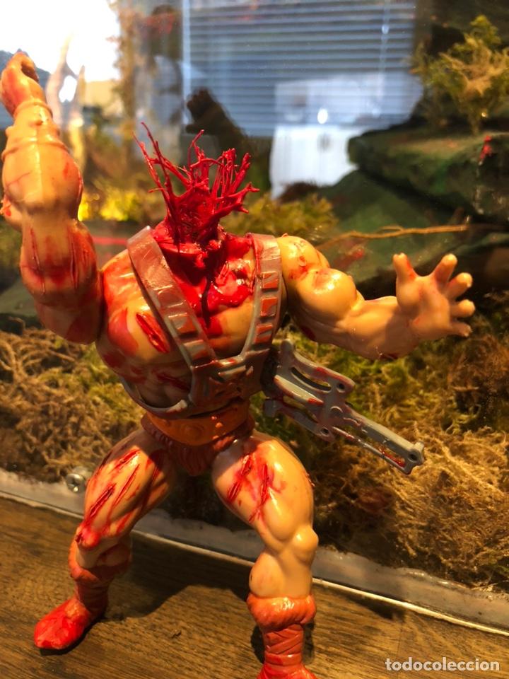 Figuras Masters del Universo: Increíble Diorama dos custom ! Skeleterror fuck he !! Master. Motu. He man. - Foto 33 - 206972585