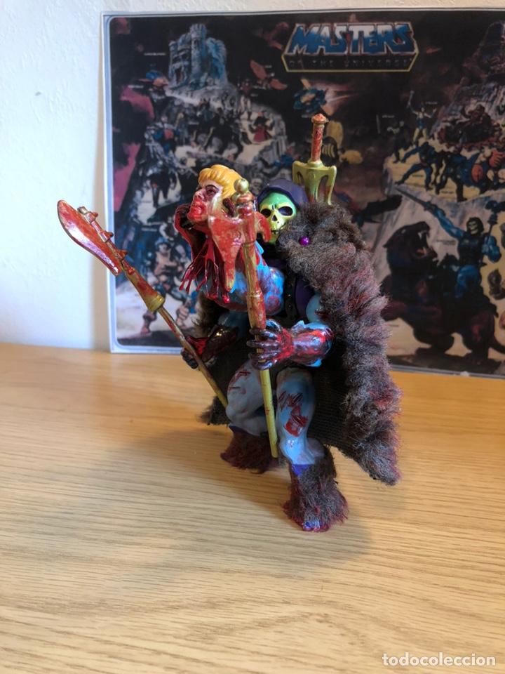 Figuras Masters del Universo: Increíble Diorama dos custom ! Skeleterror fuck he !! Master. Motu. He man. - Foto 35 - 206972585
