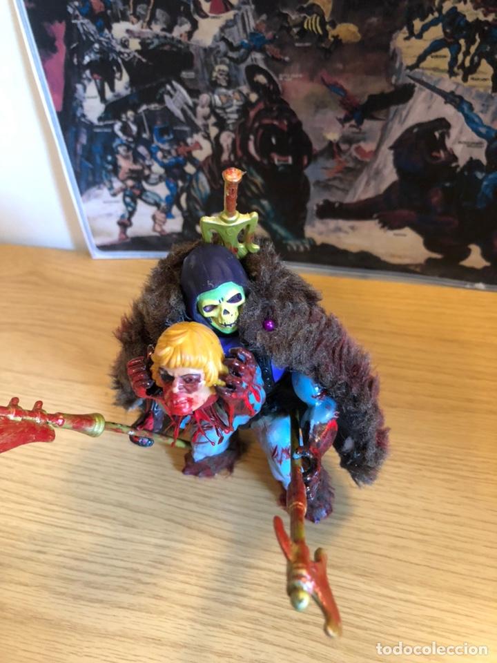 Figuras Masters del Universo: Increíble Diorama dos custom ! Skeleterror fuck he !! Master. Motu. He man. - Foto 36 - 206972585