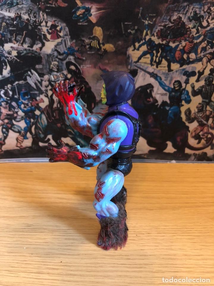 Figuras Masters del Universo: Increíble Diorama dos custom ! Skeleterror fuck he !! Master. Motu. He man. - Foto 39 - 206972585