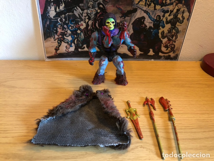 Figuras Masters del Universo: Increíble Diorama dos custom ! Skeleterror fuck he !! Master. Motu. He man. - Foto 40 - 206972585