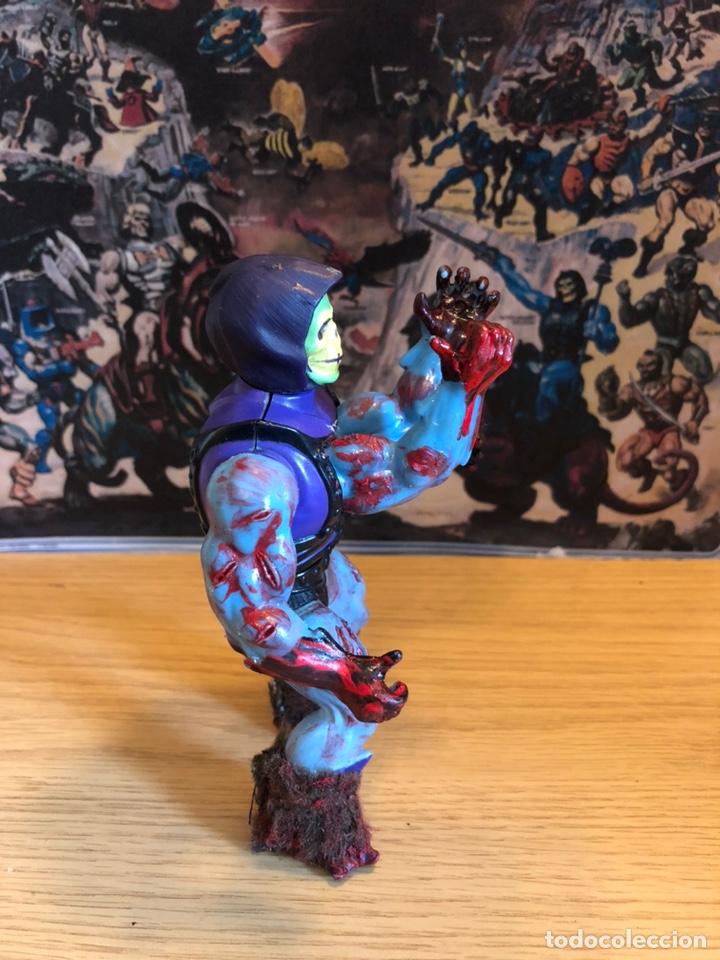 Figuras Masters del Universo: Increíble Diorama dos custom ! Skeleterror fuck he !! Master. Motu. He man. - Foto 44 - 206972585