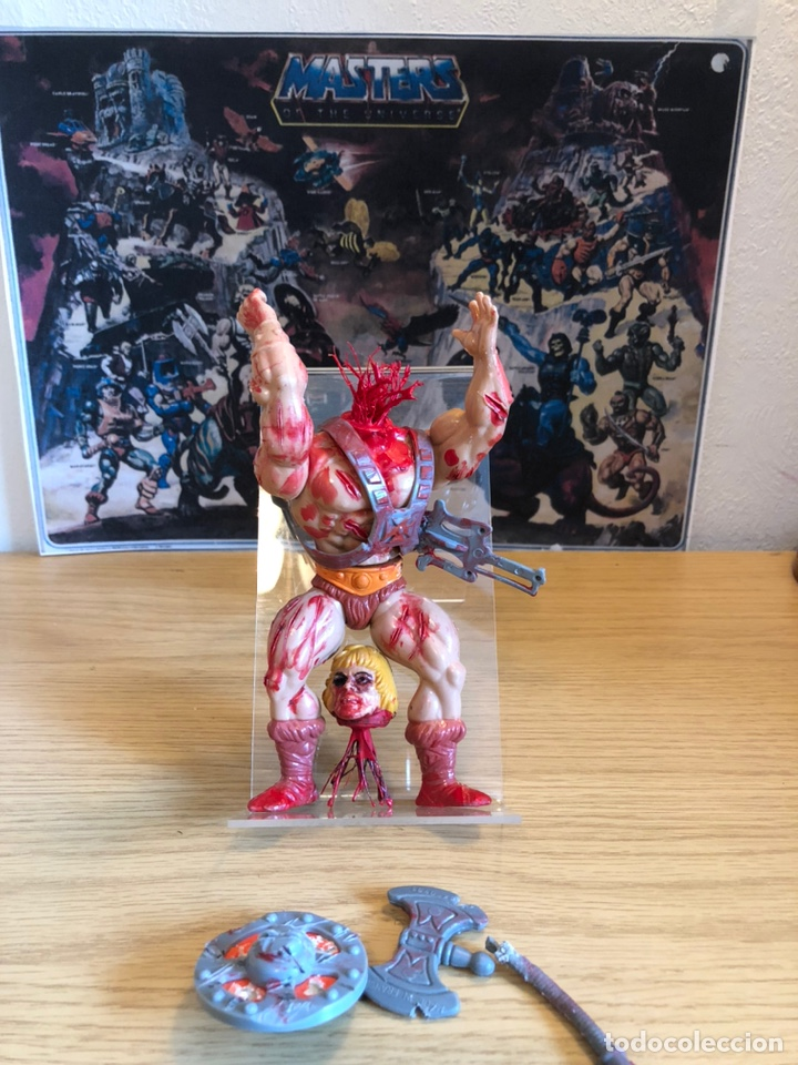 Figuras Masters del Universo: Increíble Diorama dos custom ! Skeleterror fuck he !! Master. Motu. He man. - Foto 47 - 206972585