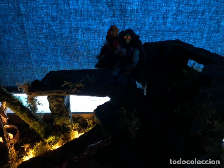 Figuras Masters del Universo: Increíble Diorama dos custom ! Skeleterror fuck he !! Master. Motu. He man. - Foto 5 - 206972585